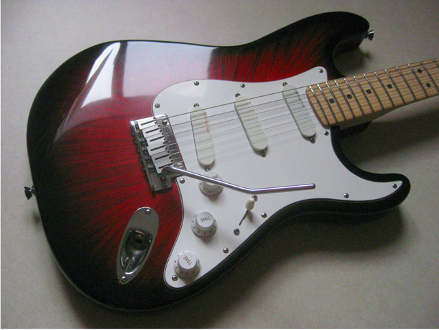 Fender forums view topic strat plus dx in rare firestorm finish image freerunsca Choice Image